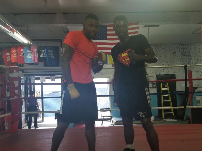 Fredrick Lawson and Richard Commey